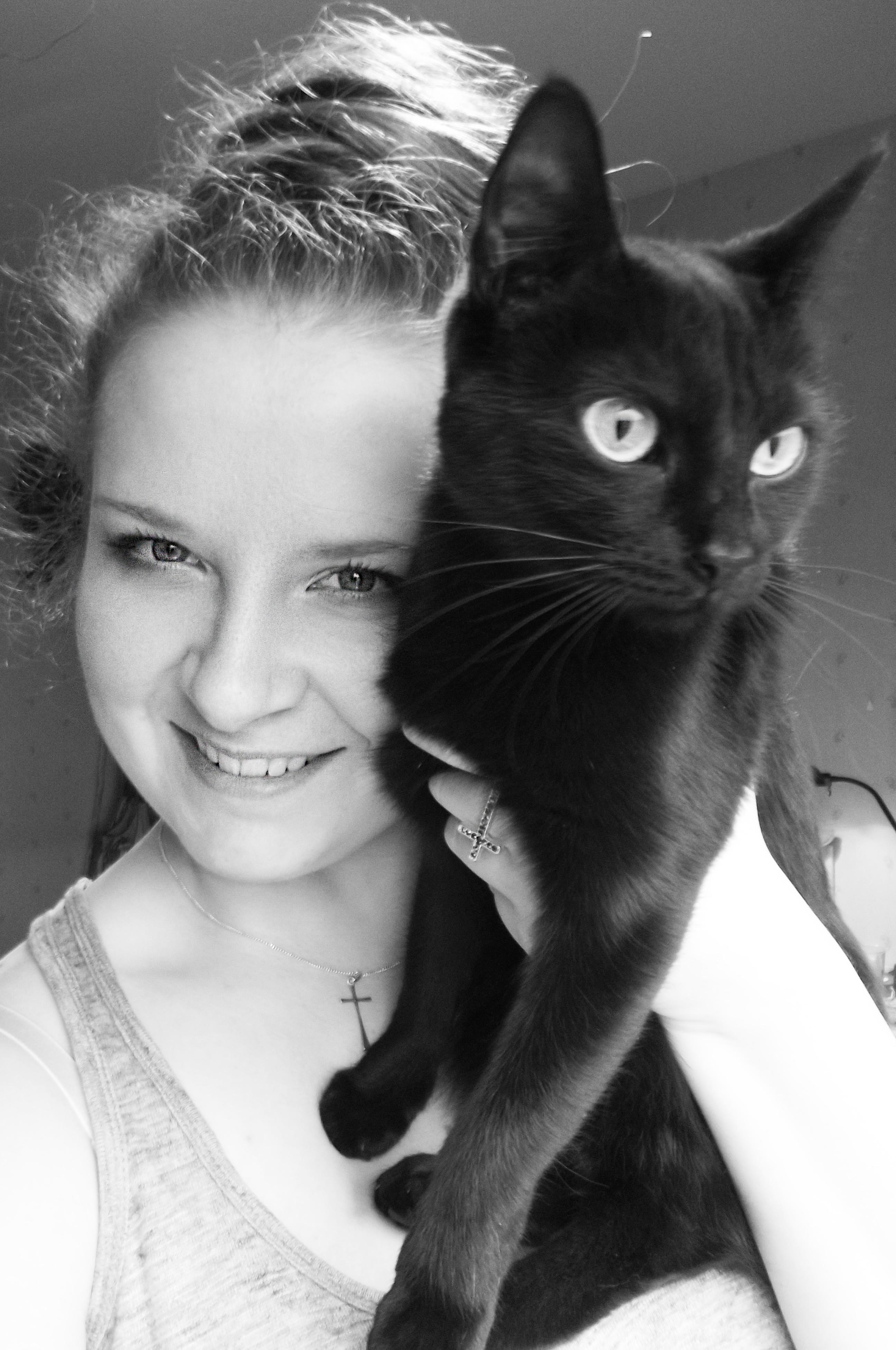 Min vackra katt